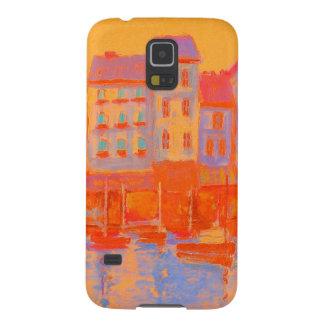 Caixa francesa da galáxia S5 de Samsung do porto Capinhas Galaxy S5