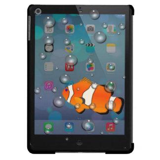 Caixa Funky do ar do iPad dos peixes do palhaço Capa Para iPad Air