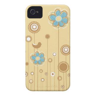 Caixa lunática de Blackberry do jardim Capa Para iPhone 4 Case-Mate