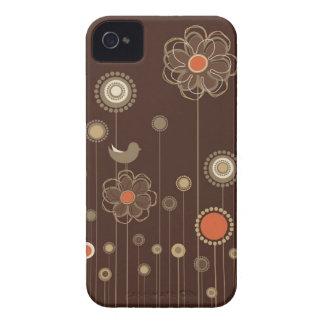 Caixa lunática de Blackberry do jardim Capinhas iPhone 4
