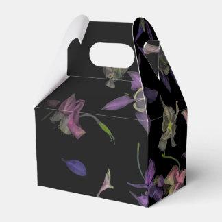 Caixa mágica do favor do frontão da flor