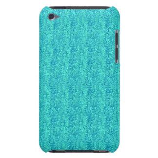Caixa modelada Sparkly azul do ipod touch 4 Capa Para iPod Touch