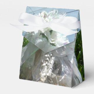 Caixa nupcial do favor da flor