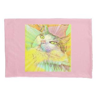 Caixa Pastel do travesseiro do gato