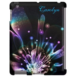 Caixa personalizada do iPad da flor do Fractal do Capa Para iPad