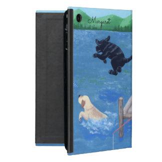 Caixa personalizada do ipad de Labradors do Capas iPad Mini