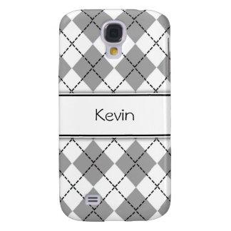 Caixa personalizada do iPhone 3G de Argyle Capas Personalizadas Samsung Galaxy S4
