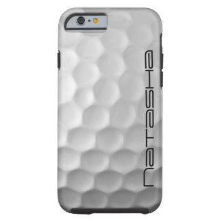 Caixa personalizada do iPhone 6 da bola de golfe Capa Tough Para iPhone 6