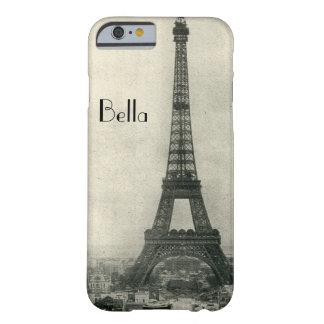 Caixa personalizada do iPhone 6 de Paris da torre Capa Barely There Para iPhone 6