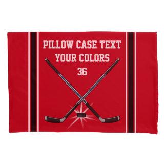 Caixa personalizada do travesseiro do hóquei, seu