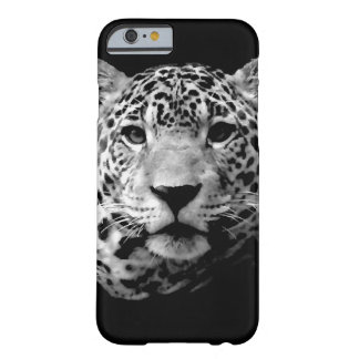 Caixa preta & branca do iPhone 6 de Jaguar Capa Barely There Para iPhone 6