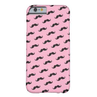 Caixa preta cor-de-rosa engraçada do iPhone 6 dos Capa Barely There Para iPhone 6