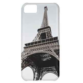 Caixa preta do branco IPhone5 de Eiffel da Capa Para iPhone 5C