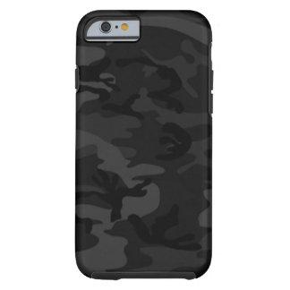 Caixa preta do iPhone 6 de Camo Capa Tough Para iPhone 6