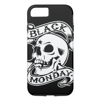 Caixa preta do iPhone 7 de segunda-feira Capa iPhone 8/ 7