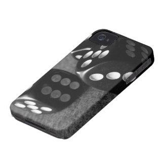 Caixa preto e branco de Iphone 4/4s dos dados Capinha iPhone 4