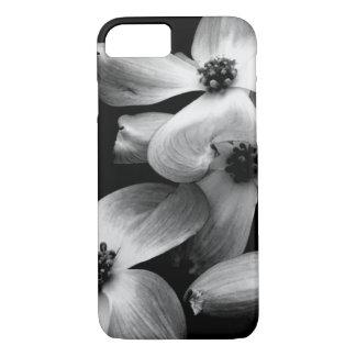 Caixa preto e branco do Dogwood Capa iPhone 7