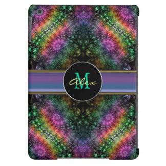 Caixa psicadélico Groovy do ar do iPad do Fractal Capa Para iPad Air