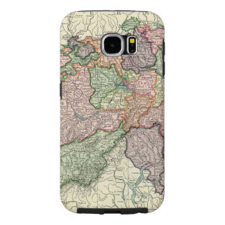 Caixa resistente da galáxia S6 de Samsung do mapa Capas Samsung Galaxy S6