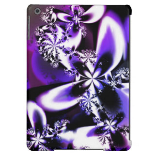 Caixa roxa da flor do Fractal para o ar do iPad Capa Para iPad Air