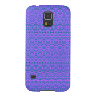 Caixa roxa da galáxia S5 de Samsung do damasco Capinha Galaxy S5