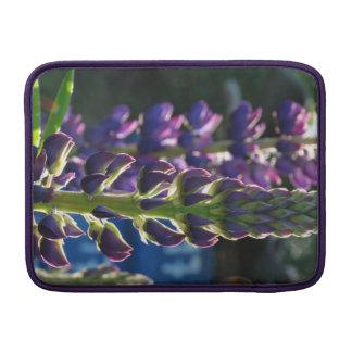 Caixa roxa do ar de Macbook da foto do primavera Bolsas Para MacBook Air