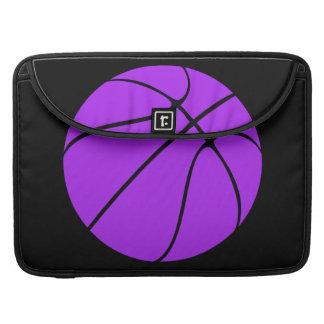 Caixa roxa do laptop do basquetebol bolsas MacBook pro
