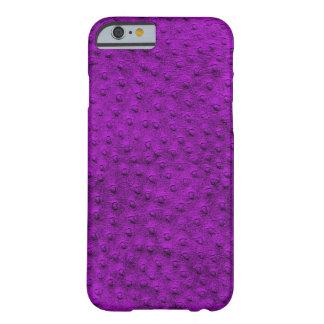 Caixa roxa exótica do iPhone 6 do couro da Capa Barely There Para iPhone 6