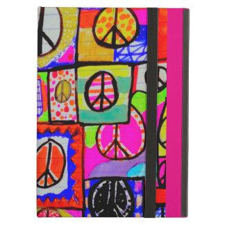 Caixa selvagem e colorida do iPad da arte do sinal