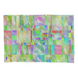 Caixa subtil do travesseiro do design do abstrato