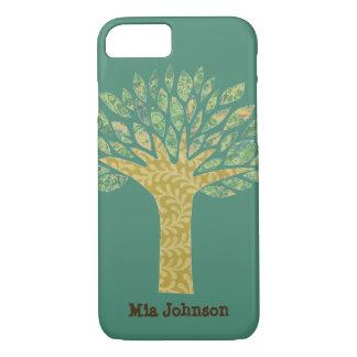 Caixa terrestre da árvore capa iPhone 7
