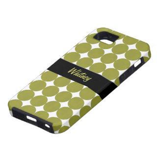 Caixa verde da case mate do iPhone 5 dos pontos do Capa Para iPhone 5