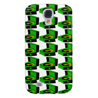 Caixa verde de Houndstooth SamsungGalaxy do Galaxy S4 Case