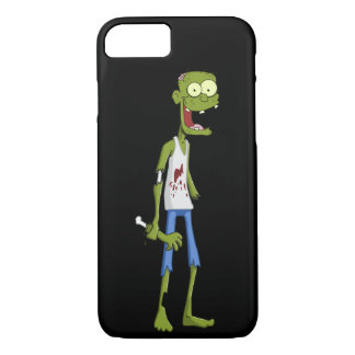 Caixa verde engraçada do iPhone 7 do zombi Capa iPhone 7