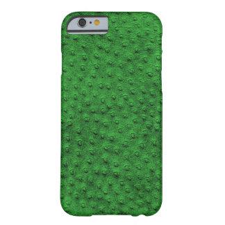 Caixa verde exótica do iPhone 6 do couro da Capa Barely There Para iPhone 6