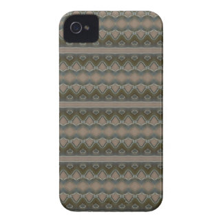 Caixa verde-oliva de Blackberry da arte abstracta Capa Para iPhone 4 Case-Mate