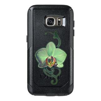 Caixa verde original de Samsung do estilo da