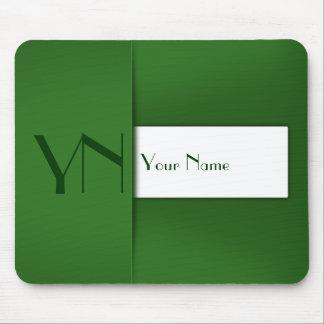 Caixa verde profissional moderna - Mousepad