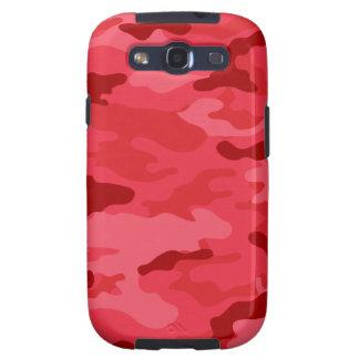 Caixa vermelha da impressão da galáxia S3 de Capas Personalizadas Samsung Galaxy S3