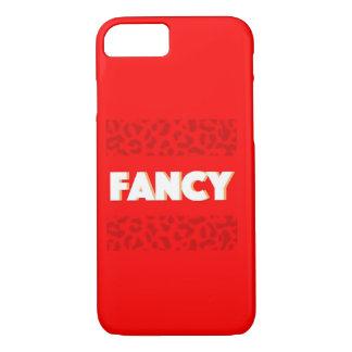 Caixa vermelha extravagante do impressão de Jaguar Capa iPhone 7