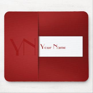 Caixa vermelha profissional moderna - Mousepad