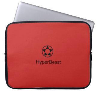 Caixa w/Logo do laptop do neopreno Capas Para Notebook