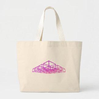 caixas 3D: Bolsas De Lona