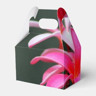 Caixas de presente tropicais da flor