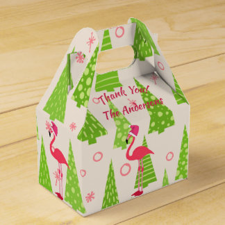 Caixas do frontão do Natal do FLAMINGO