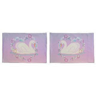 Caixas do travesseiro da princesa da cisne