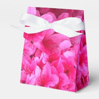 Caixas florais cor-de-rosa bonito do favor do