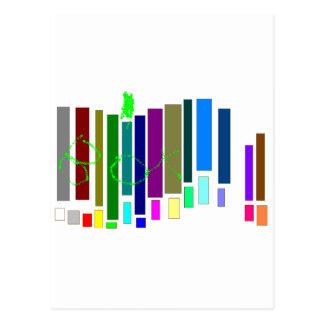 Caixas musicais cartão postal