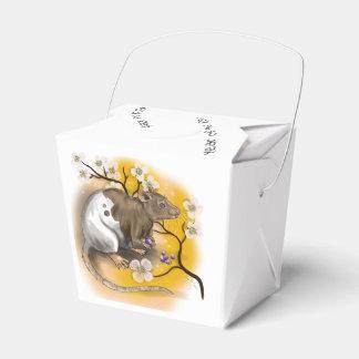 Caixinha Ano chinês do zodíaco do rato