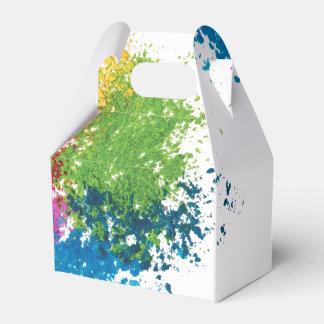 Caixinha Arco-íris do pó da cor